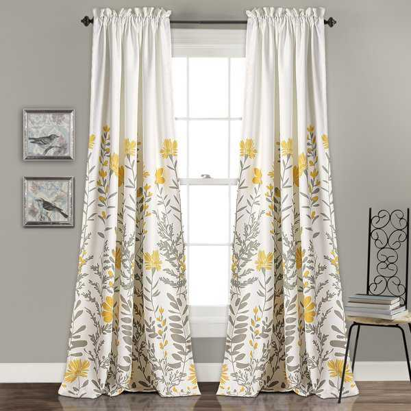 The Curated Nomad Zachary Room Darkening Curtain Panel Pair
