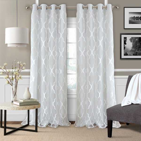 Elrene Bethany Single Window Curtain Panel