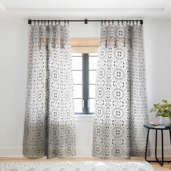 Holli Zollinger Mandala Tile Light Single Panel Sheer Curtain - 50 x 84