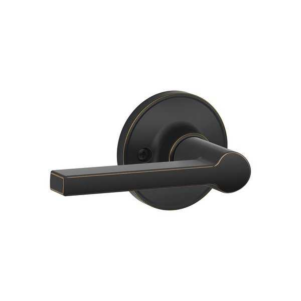 Schlage J170-SOL Solstice Single Dummy Door Lever from the J-Series (Formerly Dexter) - N/A