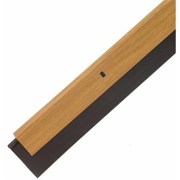 M-d Products 36in. X .25in. Metal Decor Oak Door Sweep 43153