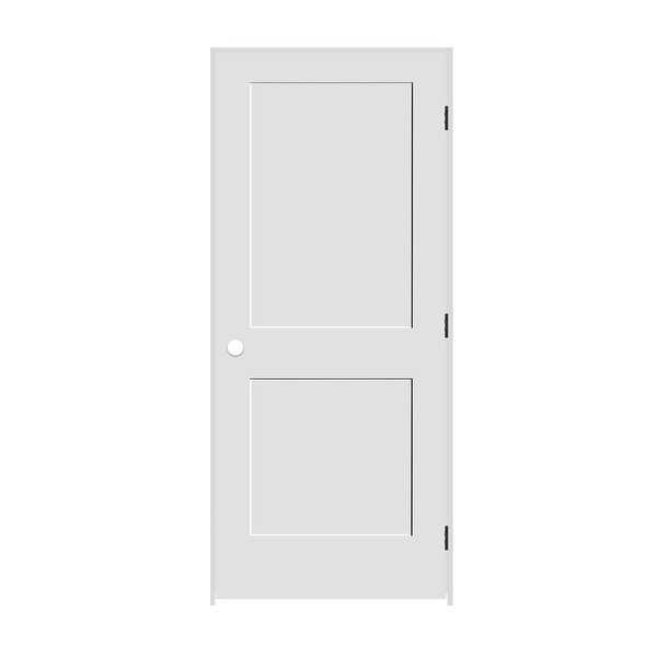 Trimlite 3068138-8402LH10B714 36' by 80' Shaker 2-Panel Left Handed Interior Pre - Primed - N/A